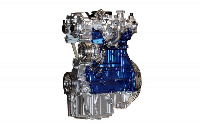 Ford公布1.0升EcoBoost环保高效能引擎细节