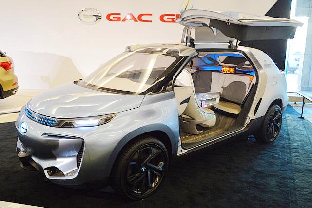 来自中国的电动概念作品 GAC广汽WitStar Concept现身