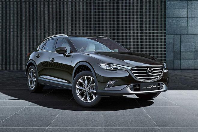 Mazda全新跨界跑旅 CX 4 终于亮相 将只在中国上市